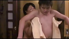 Lusty MILFs having sex in a Japanese porn