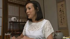 Naughty Older Chick Ayumi Takanashi Fucked In A Threesome