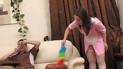 Russian maid Judith gets screwed hard