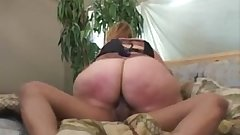 bbw enourmos butt in panty blue.