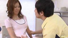 Chihiro Akino wildest office sex