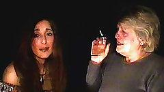 Mature and milf smoke together