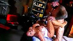 Huge boobs slut in retro fuck video