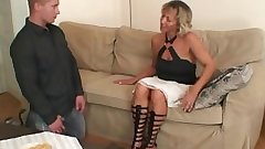 Gfs mama spreads legs for him