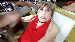 Amateur Mature Gets Anal & Facial