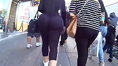 Thick Tight Latina's Ass