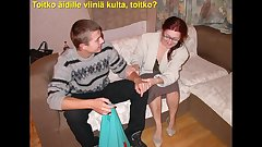 Slideshow with Finnish Captions: Mom Oleska 5