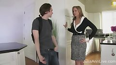 StepMom Julia Ann Fucks Stepson in Ass!