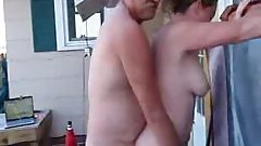 My Boss Fucks My Wife In the Outdoor Spa