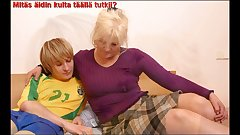 Slideshow: Mom Lena with Finnish Captions