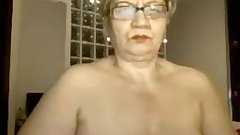 Granny excites with sex online