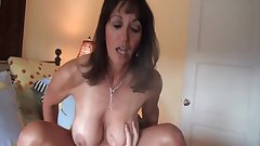 Nice mature milf gets crampied