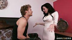 Veronica Avluv grinds her wet panties