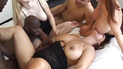 orgy matures interracial creampies