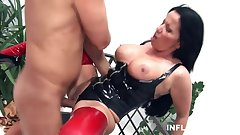 German Mature Dominatrix in control