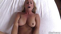 Sexy Blonde Milf Creampie Delight