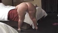 Sexy MILF with a wide fat ass