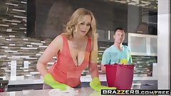 Mommy Got Boobs - Hooked On Bras scene starring Julia Ann  J