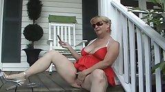 Cigar Smoking on the Porch