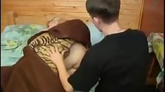 Milf mom forced fucked by son while sleeping