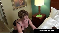 Milf Secretary Deauxma Gets Banged By Boss'_s Big Black Cock!