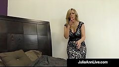 Hot Classy Milf Julia Ann Takes A Cock In Her Mouth &_ Hands!