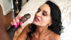 Busty Milf Take Big Black Cock In Pussy