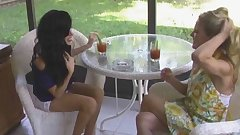 Hot MILF Cougars Smoking Sex Threesome