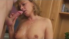 Pretty Hot Mom Seduce Her BF