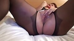 Mature Milf in Open Hose Toys and Fucks