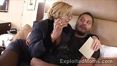 60yr Old Granny in Amateur Interracial Video