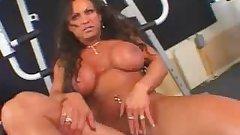 Hot Mature Busty Brunette Bodybuilder Banged