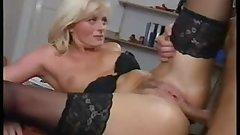 Italian Blond Anal Milfs ( 2 scenes )