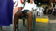 Leg, Foot & Upskirt Tease II