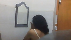 Desi Milf Aunty Changing in Bathroom Part1