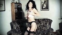 ACE OF SPADES - vintage British hairy strip dance tease