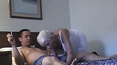 70YO GRANNY COUGAR GET FUCKED BY YOUNG 20YO STUD