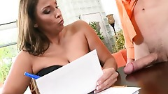 Reality Kings - Horny MILF employer needs proof of big cock