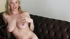 Australian Milf Anneke shows off her voluptuous tits