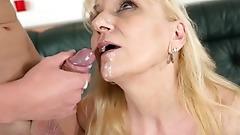LustyGrandmas GILF Pops Cock Instead of Pills!