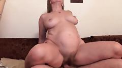 Grandma Gets Her Hairy Cunt Fucked Deep