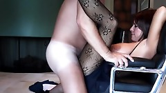 Fucking My Wife's Busty Sister In The Living Room