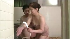 Japanese porn video showing MILFs having sex