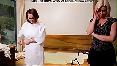 Lesbian stepmother daughter massage