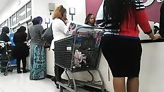 Pregnant ebony milf and sexy short skirt big ass ebony