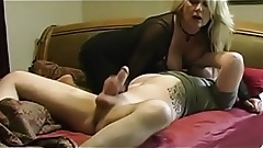 MILF Mom Helping Her Stepson For Sleeping.Nice Ass And Big Boobs
