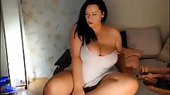Gorgeous mother masturbating on webcam tape 2