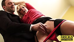 housewife bound sub shagged