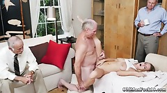 Hot blonde mom with big ass fucked Molly Earns Her Keep