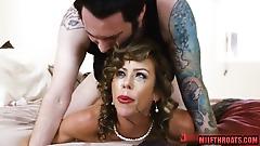 Hot MILF Impassioned Porn Clip